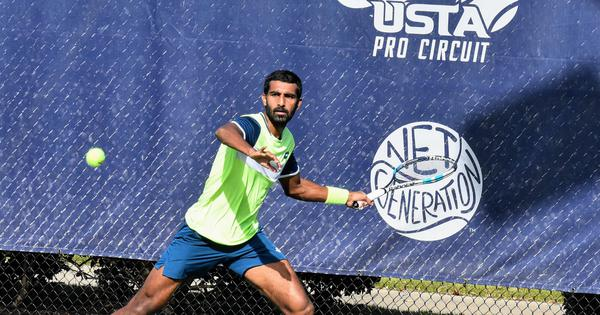 Indian tennis: Prajnesh Gunneswaran finishes runner-up at ATP Orlando Challenger event