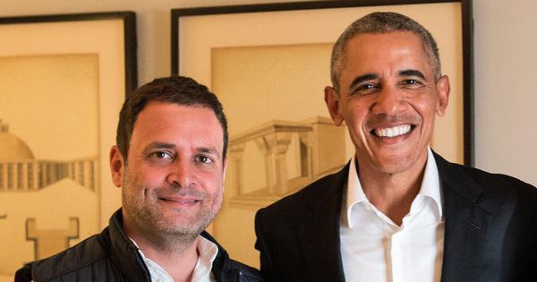 Rahul Gandhi is like student eager to impress but lacks atude, Barack Obama writes in new memoir