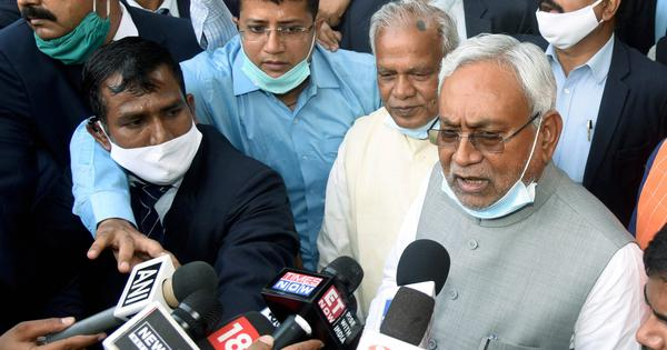 Bihar CM Nitish Kumar calls speculations of split within JD(U) 'baseless'