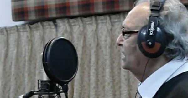 Watch: Soumitra Chatterjee took up singing in his 80s, for an advertisement jingle