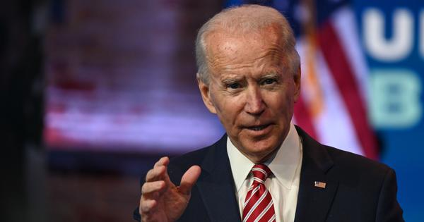 US will rejoin WHO and Paris Climate Accord, says President-elect Joe Biden