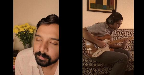 Watch: Artistes Namit Das and Anurag Shanker perform moving lockdown song 'Jigar Mein'