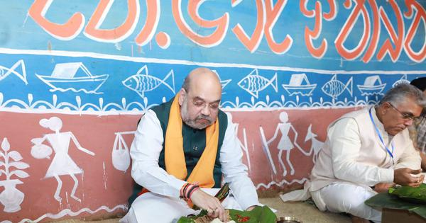 Amit Shah's lunch at Adivasi home show-off, food came from five-star hotel, claims Mamata Banerjee