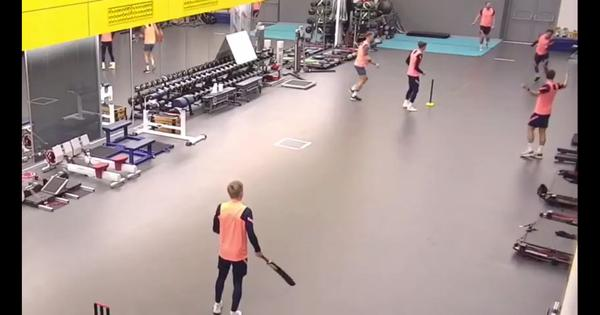Watch: Cricket in Tottenham's gym witnesses a spectacular catch by Dele Alli