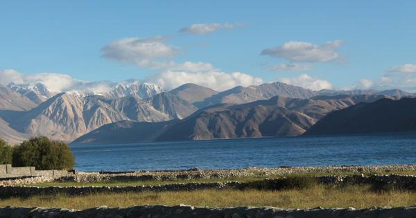 Increased human actions on the Indian side of the Pangong lake are making its water cloudy