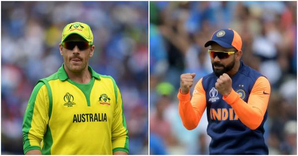 Australia vs India, first ODI live updates: Finch opts to bat as Kohli and Co return to action