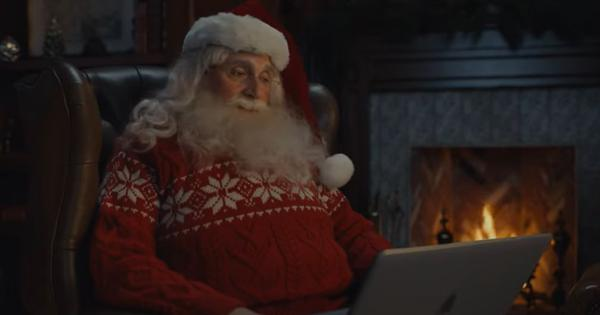 Watch: Actor Steve Carell plays 2020-themed Santa Claus in this Christmas advertisement