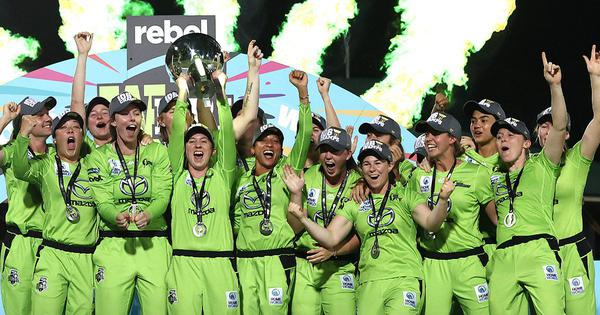 Watch highlights: Sydney Thunder stun Melbourne Stars to win Women's Big Bash League title