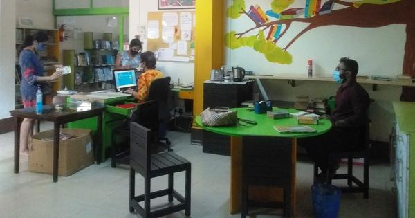 How a community library in Mumbai dependent on generosity and goodwill is coping with the pandemic