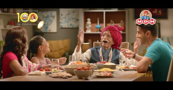 Watch these old advertisements featuring 'MDH uncle' Mahashayji Dharampal Gulati, who has died at 98