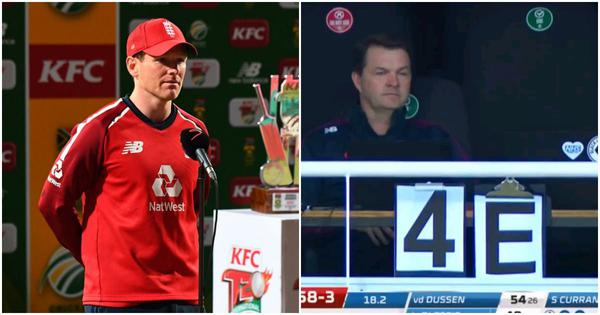 Eoin Morgan receiving tactical inputs from dressing room is a development cricket must embrace