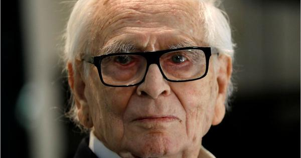 Renowned French fashion designer Pierre Cardin dies at 98