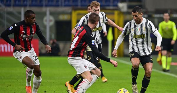 Serie A: Juventus end AC Milan's 27-game unbeaten run to spice up the title race