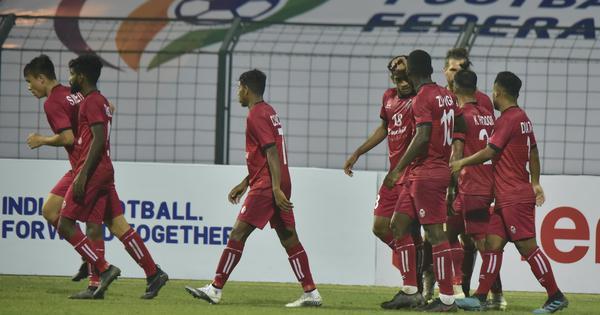 I-League: Bernardez hat-trick helps Churchill Brothers thump Indian Arrows, Real Kashmir hold TRAU