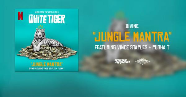 Listen: Rappers DIVINE, Vince Staples, PushaT release 'Jungle Mantra' track for 'The White Tiger'