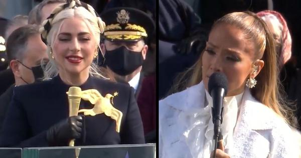 Biden inauguration: Lady Gaga sings the US National Anthem, JLo performs 'This Land is Your Land'