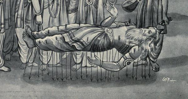 When did Bhishma die? A reading of the Mahabharata reveals a startling possibility