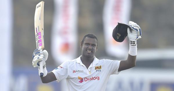 Second Test: Angelo Mathews' century helps Sri Lanka recover after James Anderson's early burst