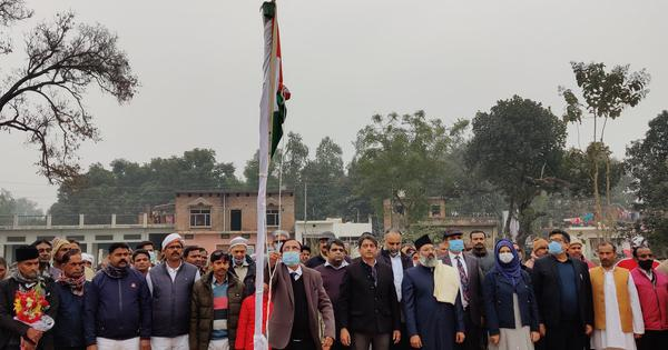 Ayodhya mosque project begins with flag-hoisting ceremony, plantation drive