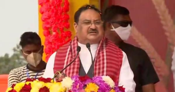 'People in Bengal have decided to say goodbye to Mamata Banerjee,' says BJP chief JP Nadda