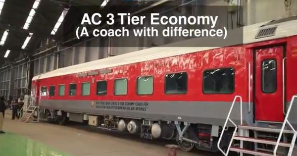Railways flaunt new AC 3-tier economy coach with better passenger capacity, facilities; check video