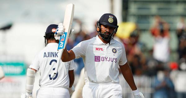 Watch: Motera pitch was interesting but normal, intent to score was needed, says Rohit Sharma