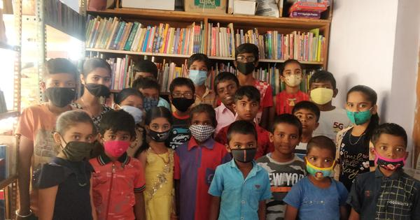 How a library run by kids came to the rescue of children of migrant workers during the pandemic