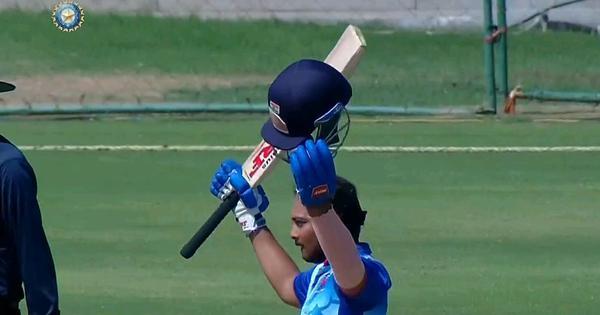 Vijay Hazare Trophy: Prithvi Shaw smashes 227, Suryakumar Yadav hits 58-ball 133 in Mumbai's 457/4