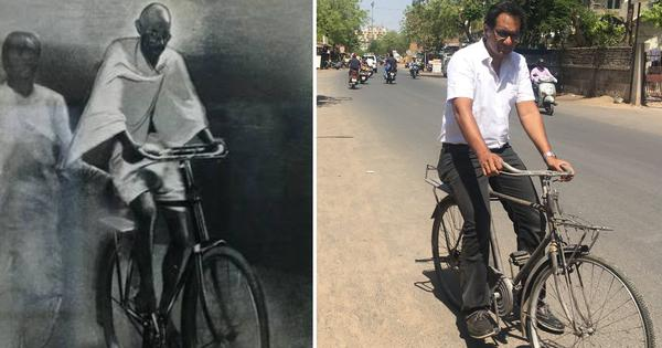How I restored Bapu's bicycle with the help of local repairmen and ingenuity