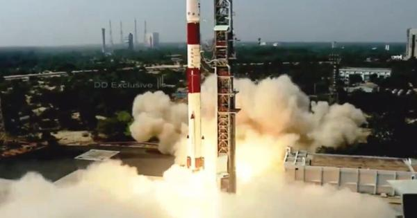 Watch: Isro's PSLV rocket lifts off with Brazil's Amazonia-1 and 18 other satellites