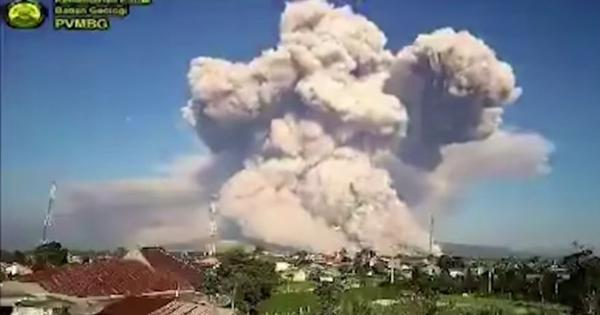 Watch: Timelapse video shows eruptions of Indonesia's Sinabung volcano