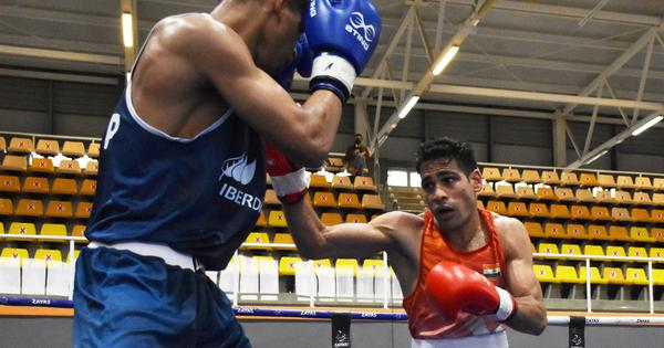 Boxing: Mohammed Hussamuddin reaches semi-finals at Boxam International, Amit Panghal bows out