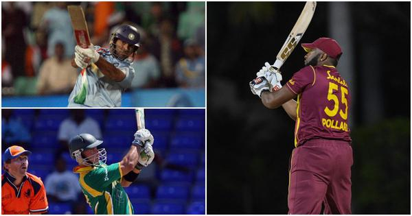 Pause, rewind, play: When Kieron Pollard, Yuvraj Singh and Herschelle Gibbs went 6, 6, 6, 6, 6, 6