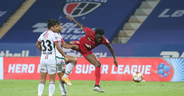 ISL semi-finals: Sylla's late goal earns NorthEast United a first-leg draw against ATK Mohun Bagan