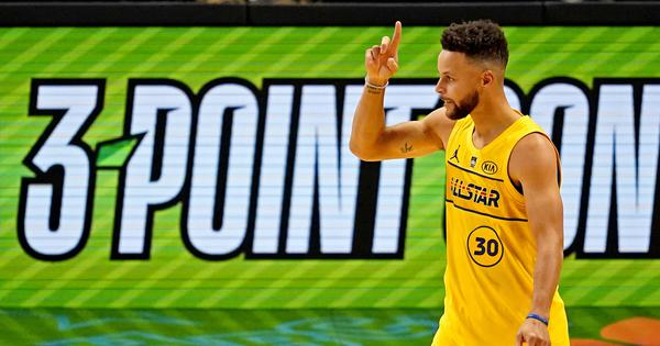 Watch: Stephen Curry nails his last shot to win NBA All-Star 3-point contest