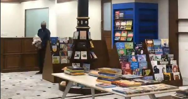 Watch: Mumbai's iconic bookstore 'Kitab Khana' reopens on Thursday after being gutted by a fire