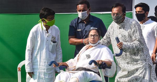 West Bengal: Mamata Banerjee cancels campaigning in Kolkata amid surge in coronavirus cases