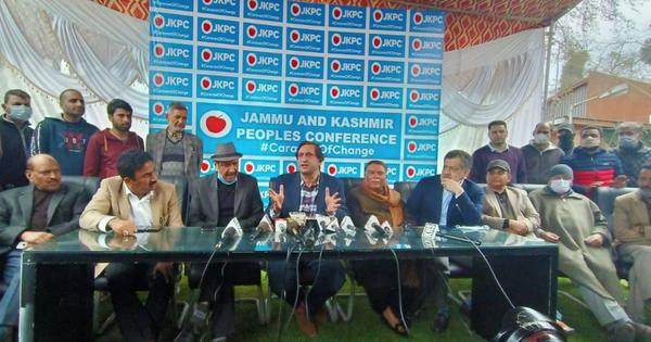 Jammu and Kashmir: Two former PDP leaders, one from National Conference join Sajjad Lone's party