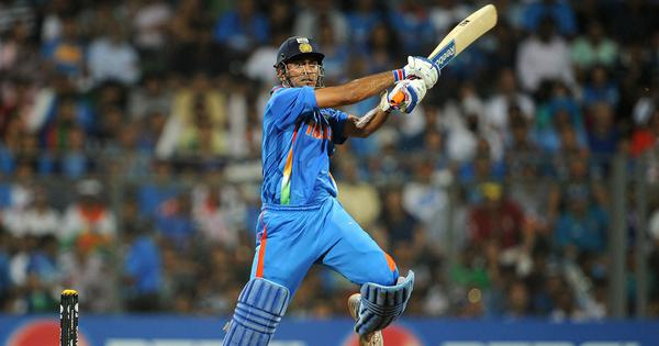 Watch: When MS Dhoni walked in at No 5 and led India to glory in the 2011 World Cup final
