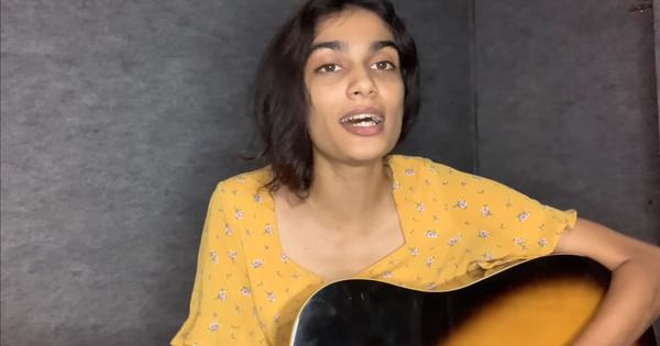 Watch: Singer Anumita Nadesan is a social media hit with covers of popular film songs