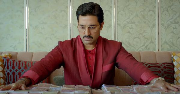 'The Big Bull' review: Harshad Mehta inspires yet another scam saga – but it's more bust than boom