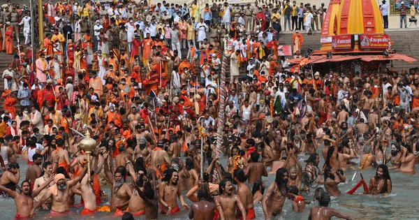 Kumbh Mela: As 102 test positive for Covid, top police official says it isn't a super-spreader event