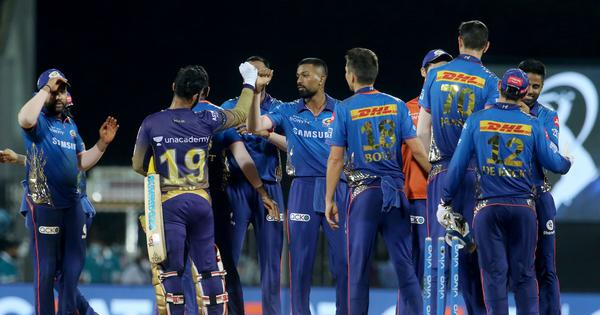 IPL 2021: Kolkata Knight Riders implode as Mumbai Indians clinch win from jaws of defeat