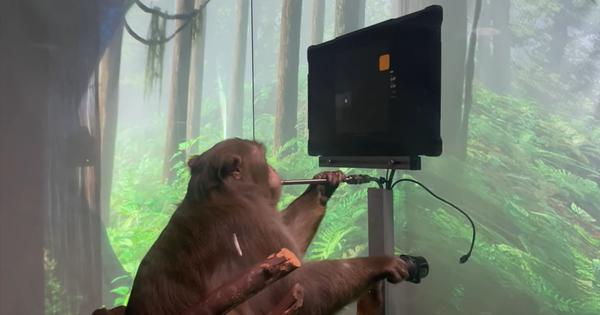 Imagine what humans could do with the technology that allowed a monkey to play a game with its mind