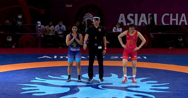 Wrestling Asian Championships: Sarita Mor defends gold medal with a sensational comeback in final
