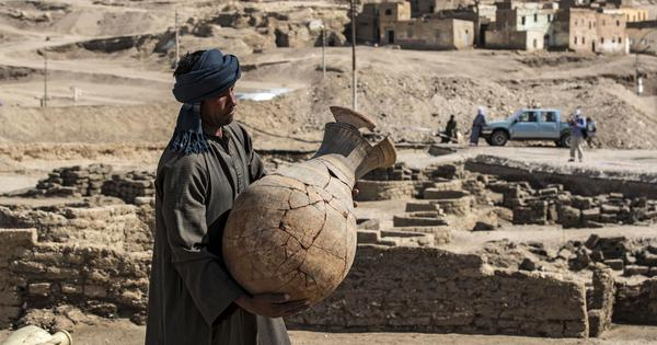 In Egypt, archaeologists have made a discovery as important as the finding of Tutankhamen's tomb