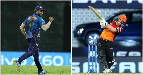 IPL 2021, MI vs SRH live blog: Bairstow falls after a quickfire 43, onus on Warner now