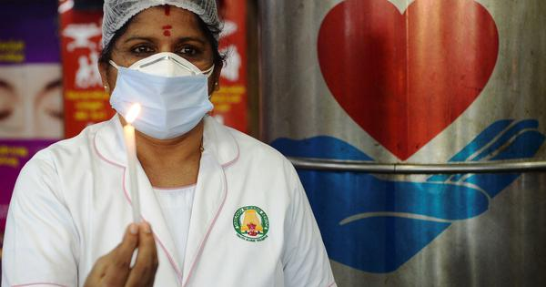 India's health workers left without government insurance cover as Covid-19 second wave hits country
