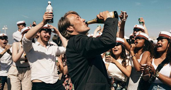 'Another Round' review: Mads Mikkelsen dazzles as a teacher who tries to drink away a midlife crisis