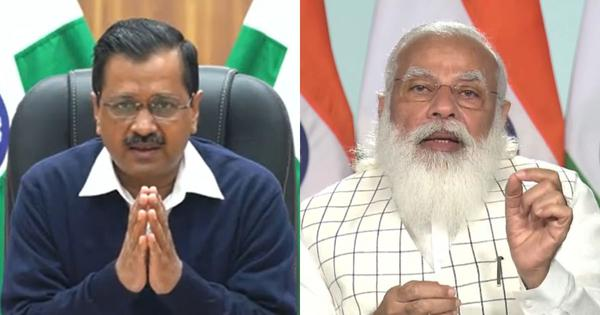 'Will people of Delhi not get oxygen if there is no oxygen-producing plant here?' Kejriwal asks Modi